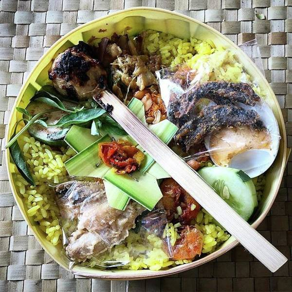 Nasi Yasa, A Special Rice Dish That Is Art Print by Arya Swadharma