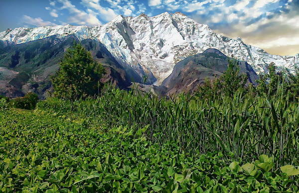 Photograph - Nasirabad Hunza Valley by Anthony Dezenzio