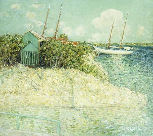 Weir Wall Art - Painting - Nassau, Bahamas by Julian Alden Weir