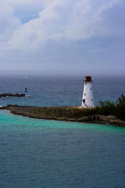Photograph - Nassau Harbor Lighthouse by Ed Gleichman