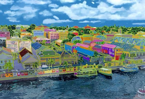 Bahamas Digital Art - Nassau by Joe Roache