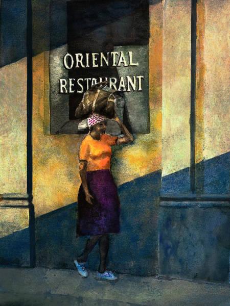 Painting - Nassau by Rick Mosher