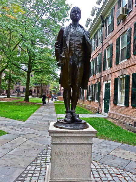 Photograph - Nathan Hale by Diana Hatcher