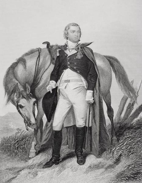 Alonzo Drawing - Nathanael Greene 1742-1786. American by Vintage Design Pics