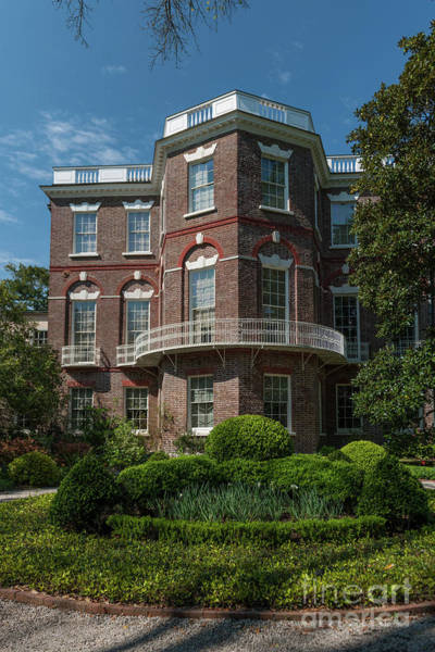 Photograph - Nathaniel Russell House In Charleston Sc  by Dale Powell