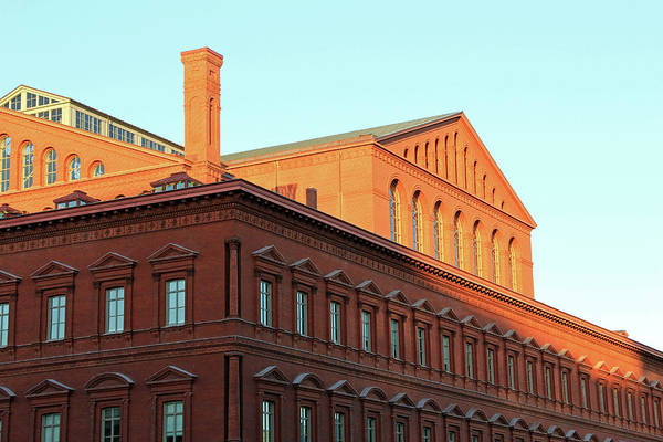 Endorsement Photograph - The National Building Museum In Washington by Cora Wandel
