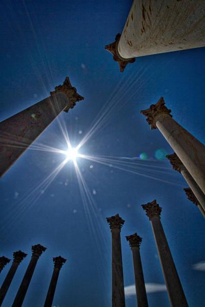 Photograph - National Capitol Columns #2 by Stuart Litoff