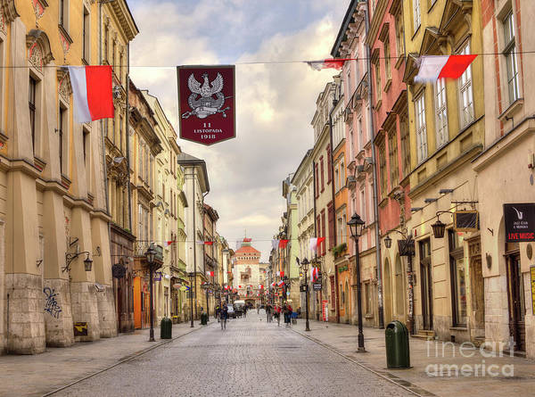 Shutter Speed Photograph - National Independence Day, Krakow, Poland 2017 by Juli Scalzi