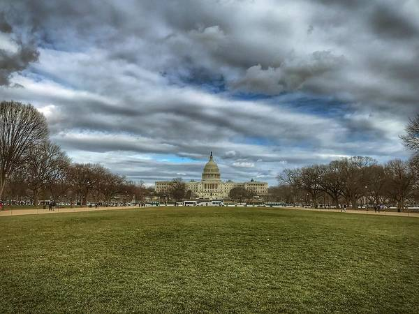 Photograph - National Mall by Chris Montcalmo