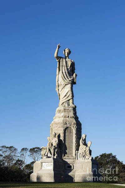 Wall Art - Photograph - National Monument To The Forefathers by John Greim
