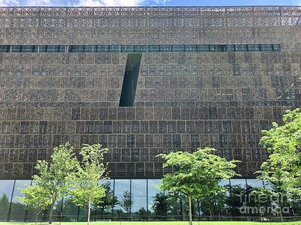 Photograph - National Museum Of African American History And Culture by Flavia Westerwelle
