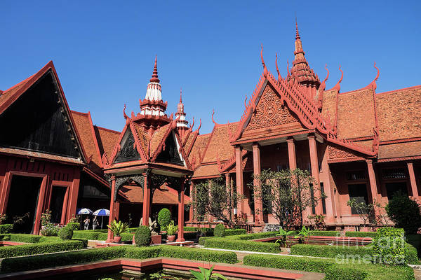 Photograph - National Museum Of Cambodia 01 by Rick Piper Photography