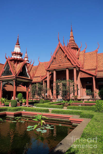 Photograph - National Museum Of Cambodia 02 by Rick Piper Photography