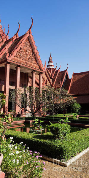 Photograph - National Museum Of Cambodia 06 by Rick Piper Photography