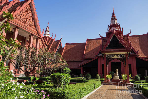 Photograph - National Museum Of Cambodia 07 by Rick Piper Photography