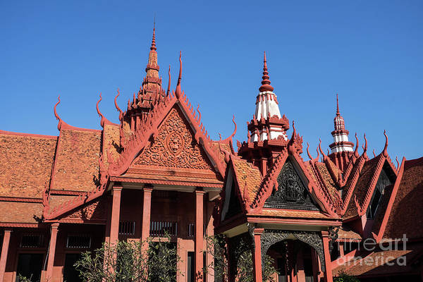 Photograph - National Museum Of Cambodia 12 by Rick Piper Photography