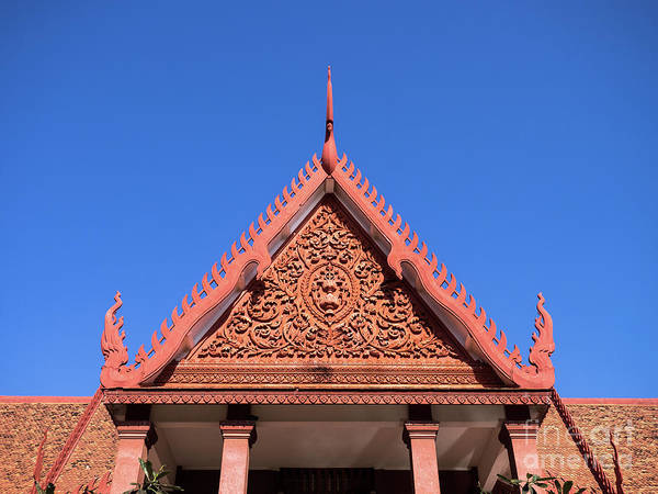 Photograph - National Museum Of Cambodia 13  by Rick Piper Photography