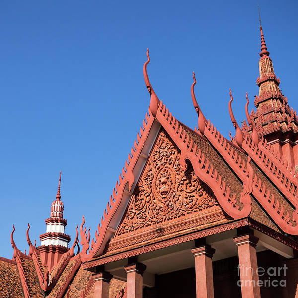 Photograph - National Museum Of Cambodia 16 by Rick Piper Photography