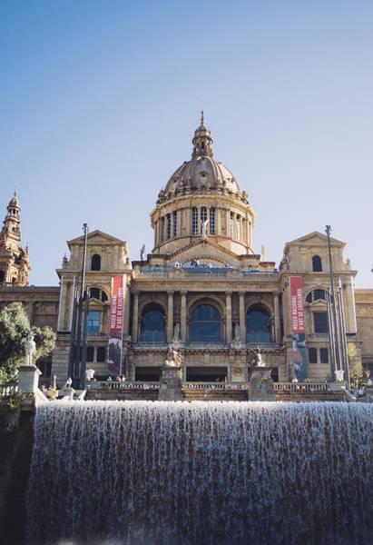 Wall Art - Photograph - National Palace Barcelona by Pati Photography