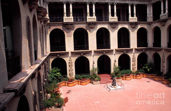 Photograph - National Palace Guatemala by Thomas R Fletcher