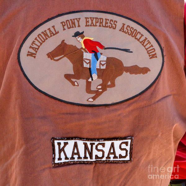 Photograph - National Pony Express Association by Jon Burch Photography