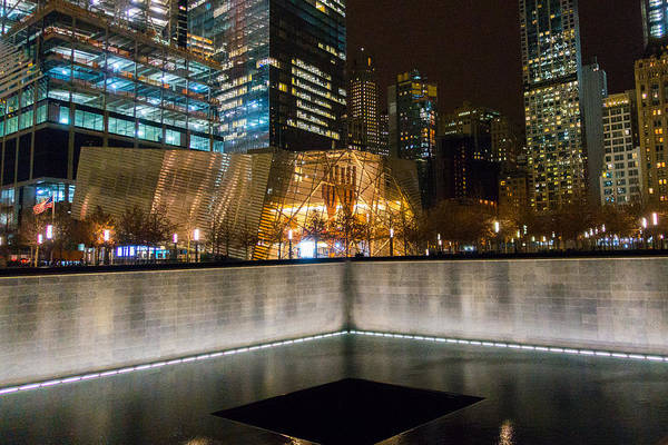 Photograph - National September 11 Memorial And Museum by SR Green