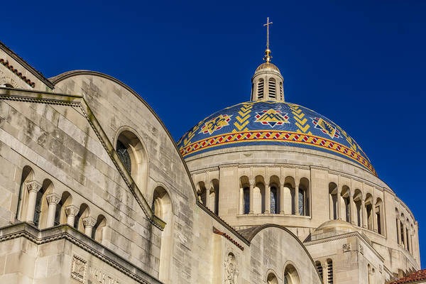Photograph - National Shrine Dome I by Susan Candelario
