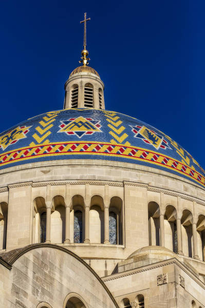 Photograph - National Shrine Dome by Susan Candelario