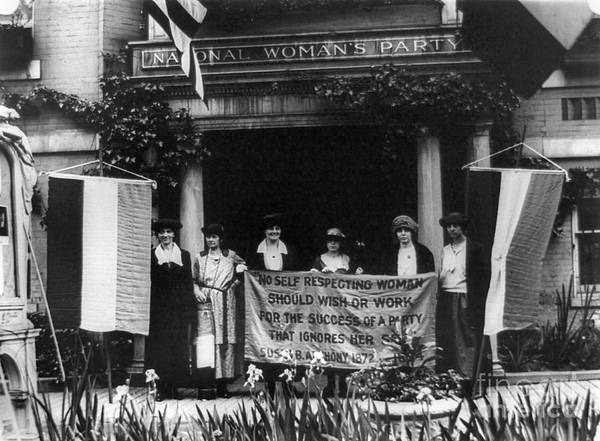 Photograph - National Womens Party by Granger