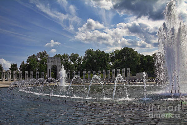 Photograph - National World War 2 Memorial by Jemmy Archer