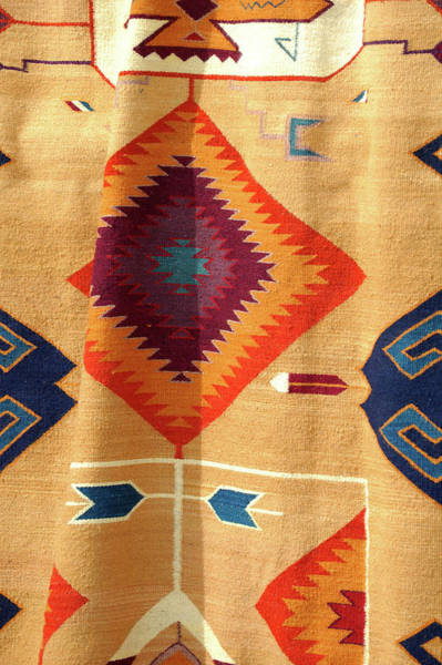 Photograph - Native American Blanket by Jerry Sodorff