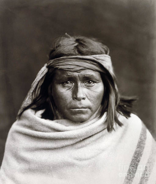 Wall Art - Photograph - Native American, C1903 by Granger