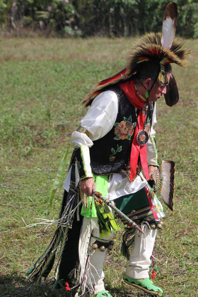 Photograph - Native American Dancer - Rdw006378 by Dean Wittle