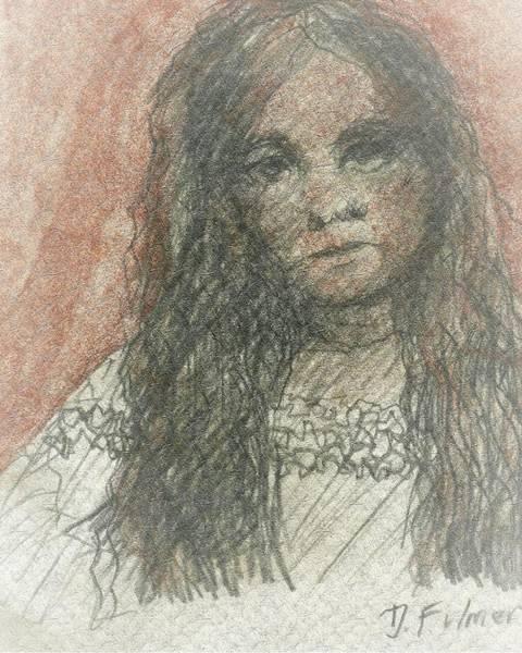 Native American Girl Art Print