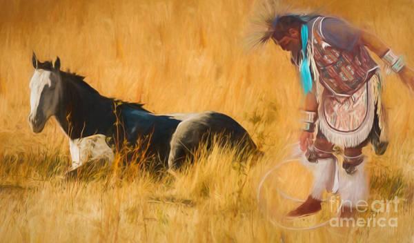 Photograph - Native American by Mark Jackson