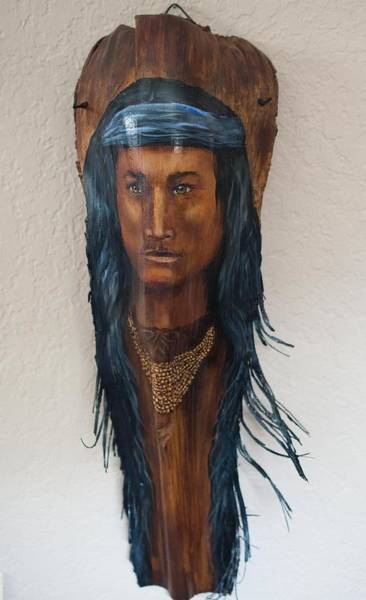 Painting - Native American  by Nancy Lauby