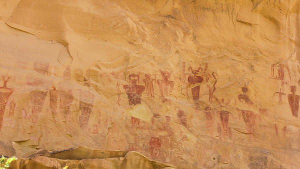 Photograph - Native American Rock Wall Art by Kyle Lee