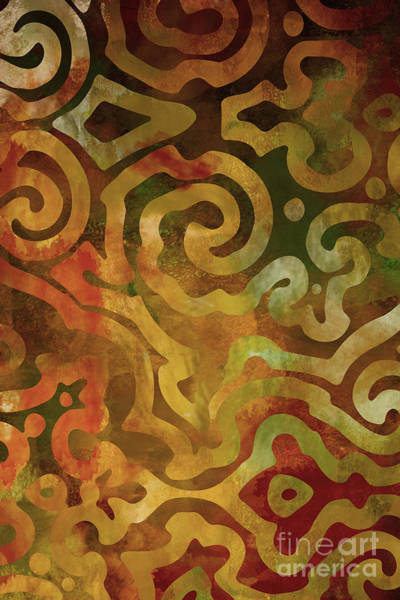 Autumn Wall Art - Painting - Native Elements Earth Tones by Mindy Sommers
