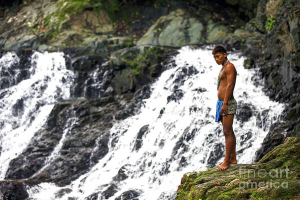 Indio Photograph - Native In Panama by John Rizzuto