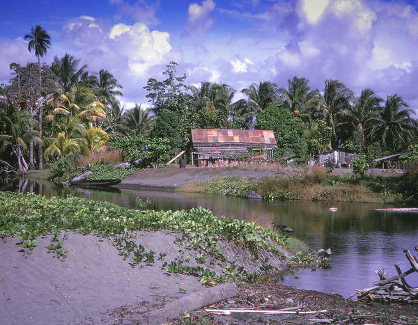 Photograph - Native Village - Guadalcanal by Samuel M Purvis III