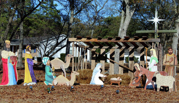 Photograph - Nativity Scene by Cynthia Guinn