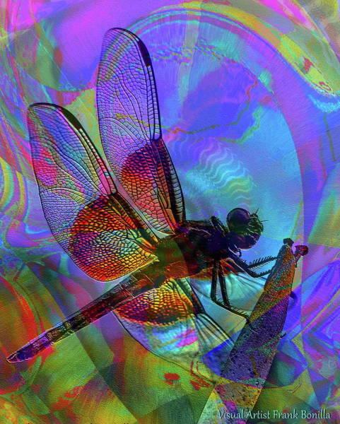 Digital Art - Natural Beauty I by Visual Artist Frank Bonilla
