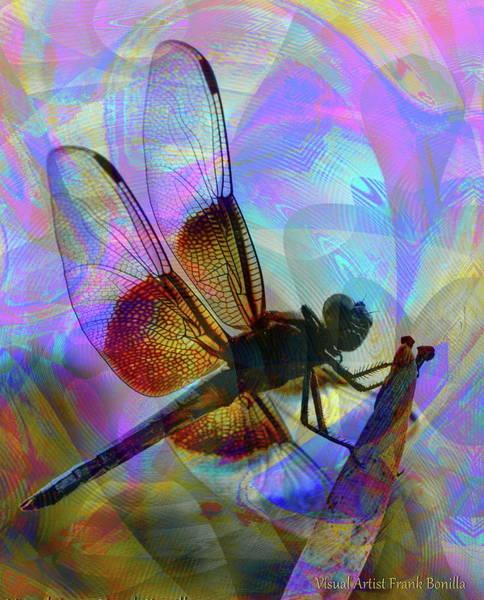 Digital Art - Natural Beauty II by Visual Artist Frank Bonilla