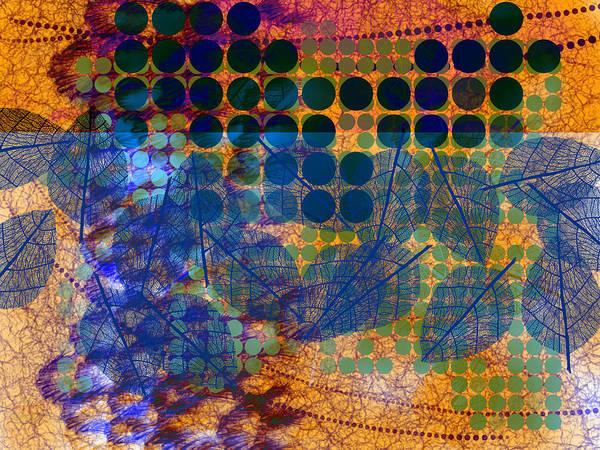 Digital Art - Natural Blues by Lisa Schwaberow