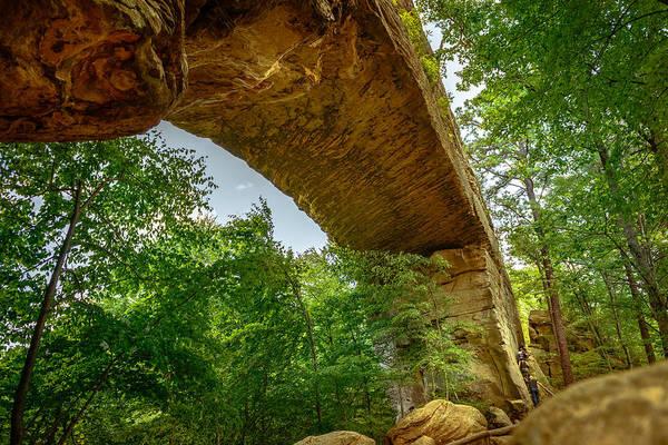 Photograph - Natural Bridge 3 by Michael Scott