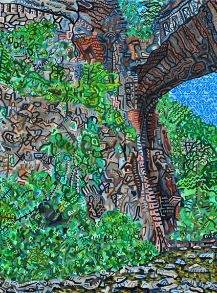 Wall Art - Painting - Natural Bridge by Micah Mullen