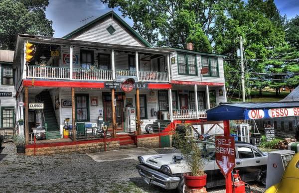 Rockbridge County Photograph - Natural Bridge Station Store by Todd Hostetter