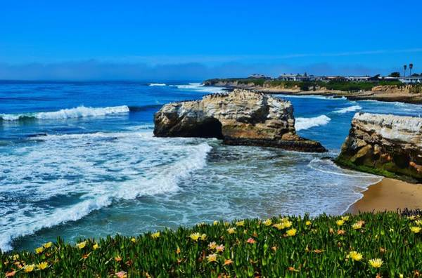 Photograph - Natural Bridges State Park View by Marilyn MacCrakin