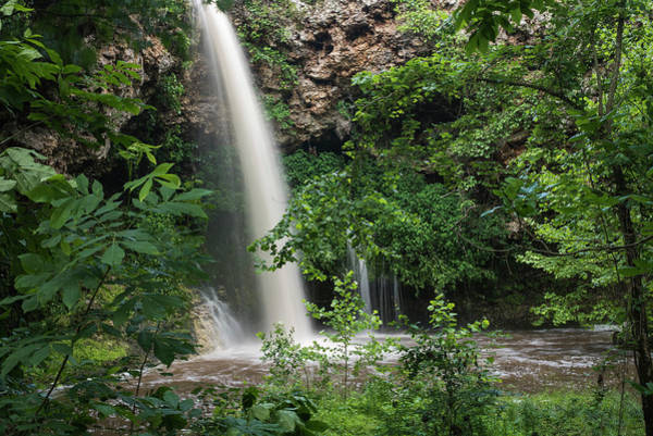 Photograph - Natural Falls After Rain by Robert Potts