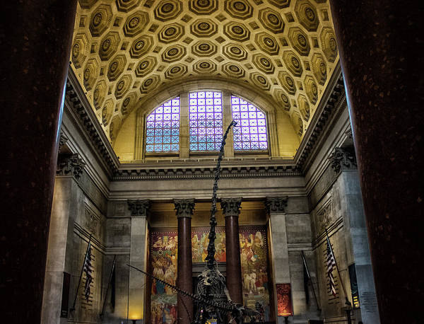 Cartography Photograph - Natural History Museum Nyc by Martin Newman